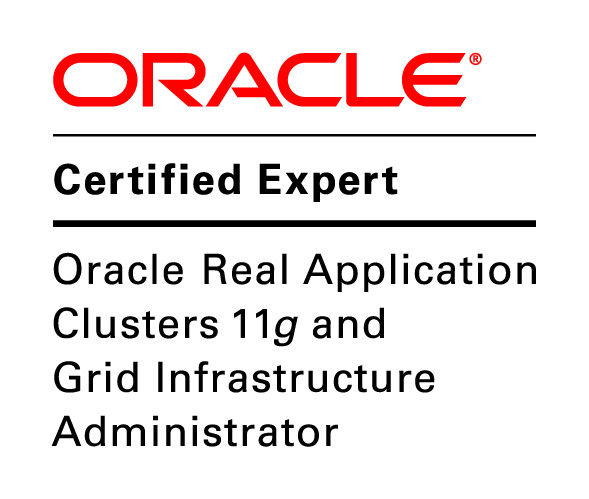 Now I am OCE in Oracle RAC 11g and Grid Infrastructure Administrator ...