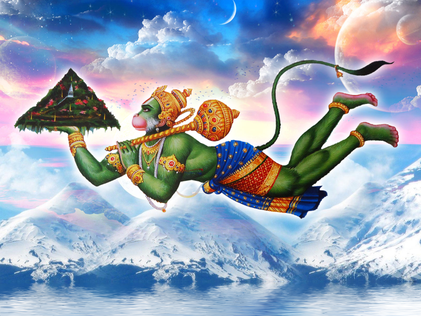 Happy Hanuman Jayanti and Happy Earth Day.